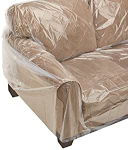 Furniture Sofa Couch Cover 1 Pack Protects During Moving 152 X 45 Home Kitchen