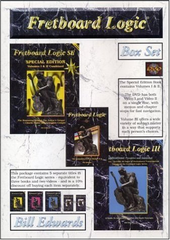 Read Online Fretboard Logic Box Set (3 Volumes and  2 Videos Combined in Two Books and One DVD Disc) pdf