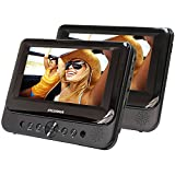 Best Portable DVD Players - Sylvania SDVD7750 Dual 7-Inch Portable LCD DVD Player Review