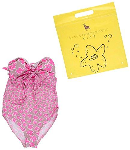Stella McCartney Kids Girls' Anouk Daisy Print One Piece Swimsuit, Pink, 3 by Stella McCartney Kids