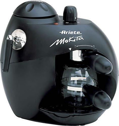 Ariete Moka Aroma Espresso Máquina espresso 300L 4tazas Negro - Cafetera (Máquina espresso, 300 L, De café molido, Negro): Amazon.es: Hogar