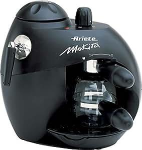 Ariete Moka Aroma Espresso - Cafetera (Espresso machine, De café molido, Negro, Aluminio, Café, Capuchino)