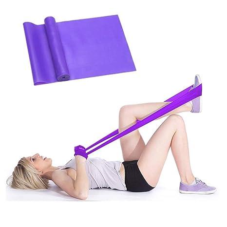 MENGZF12 Banda Elástica Fitness,Largo Yoga Cintas Elásticas Látex Natural para Fitness, Estiramiento, flexibilidad, pilate, Ballet, Gimnasia y ...