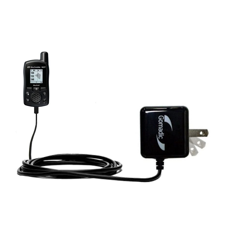 Gomadic High Output Home Wall AC Charger designed for the SkyGolf SkyCaddie SG2-5 with Power Sleep technology - Intelligently designed with Gomadic TipExchange