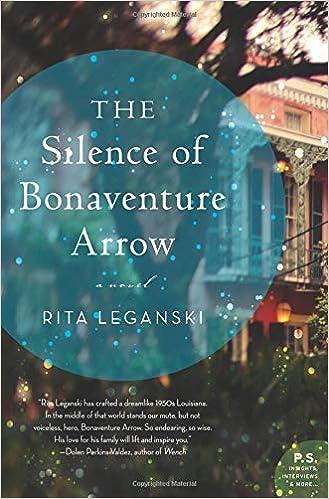 Bilderesultat for The Silence of Bonaventure Arrow