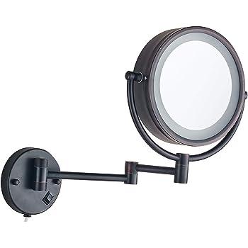 Amazon Com Cavoli Wall Mounted Makeup Mirror With Led