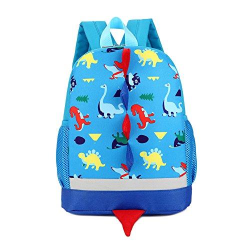 IMLECK Kid Toddler Backpack Dragon Dinosaur Backpack 3-6years ()