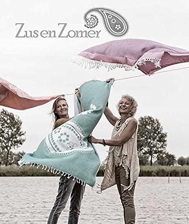 ZusenZomer Fouta Toalla Arco Iris | 100 x 190 cm | XXL | 100% Algodón | Alta Calidad, Muy Suave | Toalla de Sauna, Toalla de Playa, Bandera Gay Pride ...
