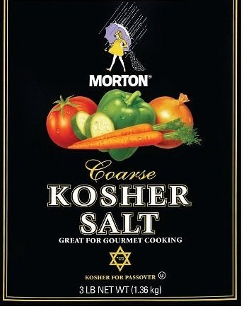 Morton Coarse Kosher Salt - 3 Lb Box by Morton Salt
