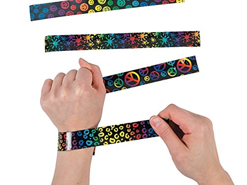 crazy slap bracelets retro