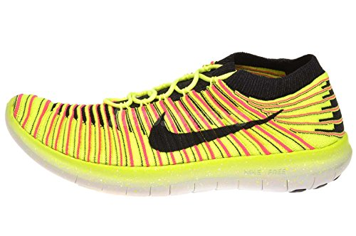 Nike Vrouwen Gratis Rn Motion Fk Oc Running Trainers 843434 999 Multi-color 5.5
