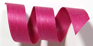 "product image for 100% Biodegradable Natural Ribbon | 33 Solid Colors | Ribbon for Crafts | Cotton Curling Ribbon | Holiday Ribbon | Wrapping Ribbon | Eco-Friendly Ribbon (Magenta, 1/2"" x 50 Yards)"