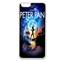 Customized TPU Never Grow Up Quotes Peter Pan iPhone 6 6s 4.7 Case White