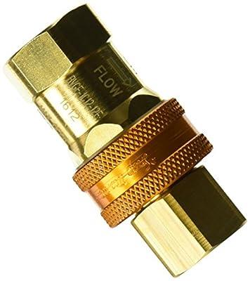 "T&S Brass AG-5D Gas Appliance Connectors, Quick Disconnect, 3/4"""