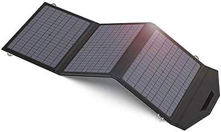 Beirich portátil Externo USB Cargador Solar 60W 18V ...