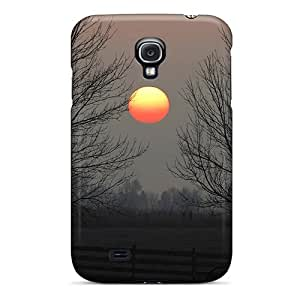 For Galaxy S4 Tpu Phone Case Cover(kayaking At Sunset)
