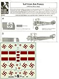 Blue Rider Decals 1:72 Latvian Air Force Sopwith Camel , Sopwith Strutter #BR403