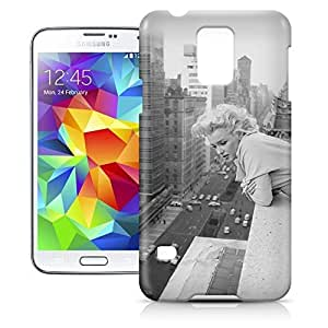 Super Phone Case For Samsung Galaxy S5 - Marilyn Monroe in New York City Snap-On Protective