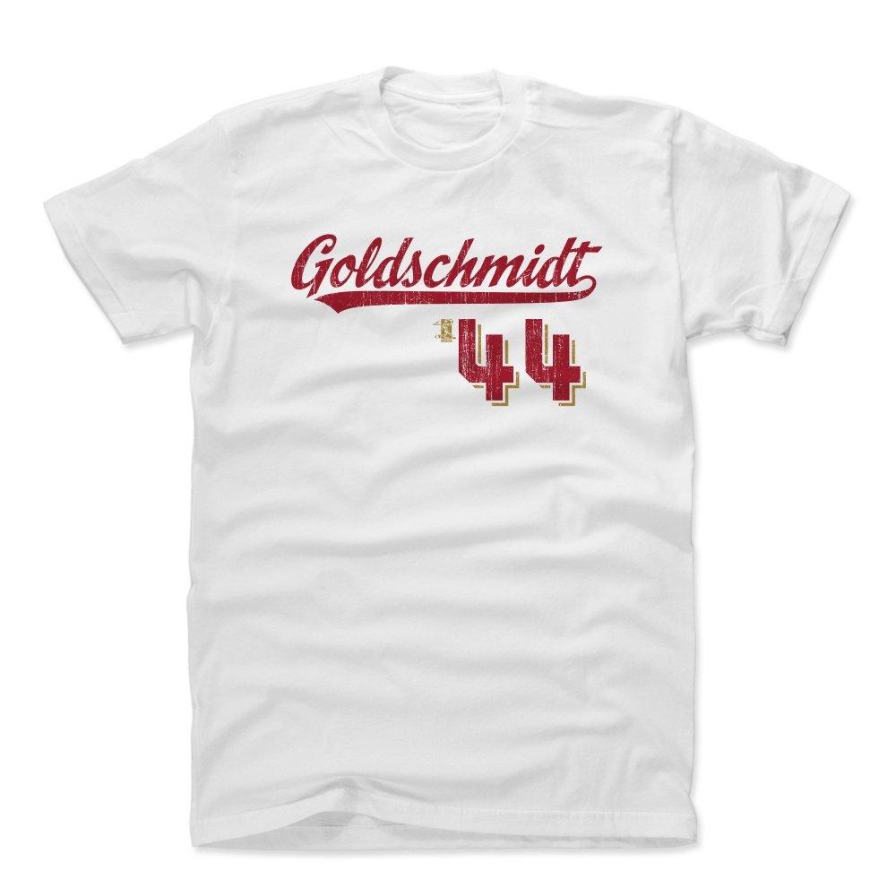 ポールゴールドシュミットスクリプトR ArizonaメンズコットンTシャツ B01NCHHZVFホワイト xx-large