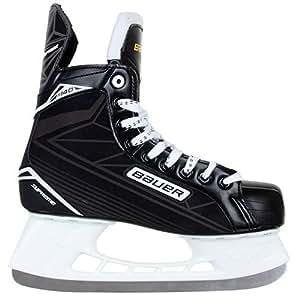 Bauer Supreme 140Patins de hockey sur glace, Enfant, Noir