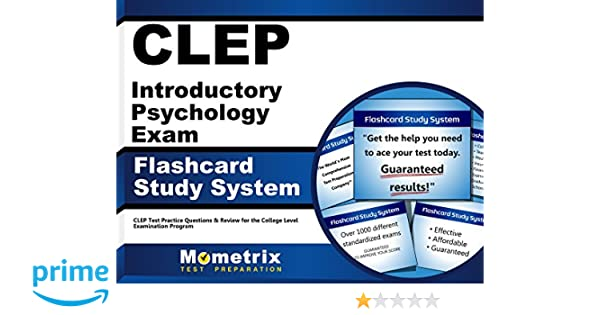 Clep Introductory Psychology Exam Flashcard Study System Clep Test