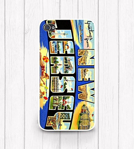 - Vintage New Jersey Postcard iPhone Case, Any iPhone, iPhone 8, iPhone X
