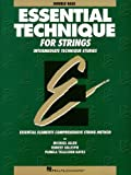 Essential Tech for Strings Double Bass, Robert Gillespie and Pamela Tellejohn Hayes, 0793571499