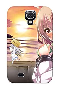 Crazylove 09472f02687 Case Cover Skin For Galaxy S4 (kantai Collection Animal Blush Cat Chibi Error Musume (kancolle) Fang )/ Nice Case With Appearance