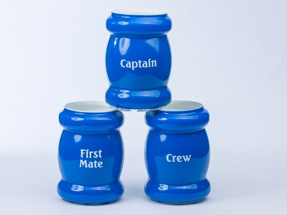 Blue Cooler First Mate Imprint Yachtsee Insulated Drink Holder with Suction