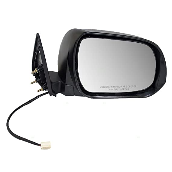 Passenger Side for Toyota Highlander TO1321246 2008 to 2010 New Mirror