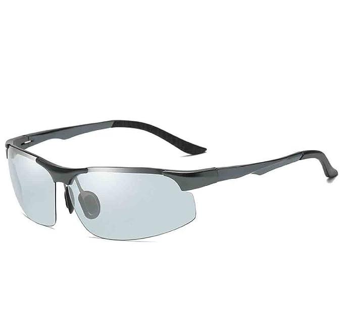 Wayfarer De Los Hombres Conduciendo Gafas De Sol Polarizadas Al-Mg Marco De Metal Ultra Light, 1-OneSize: Amazon.es: Ropa y accesorios