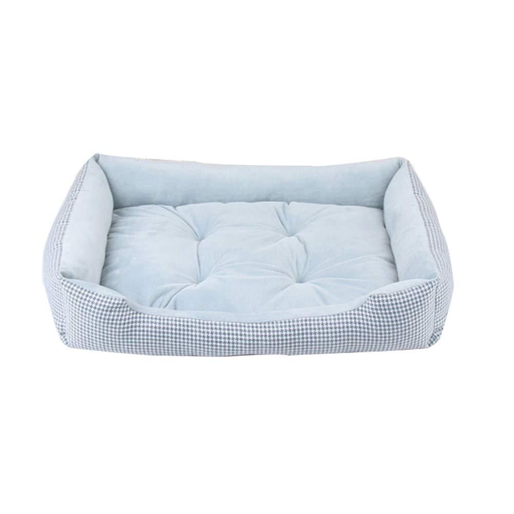 Beangreen 60cm beangreen 60cm Cotton and Linen Kennel Small Dog Four Seasons Universal mat pet,beangreen,60cm