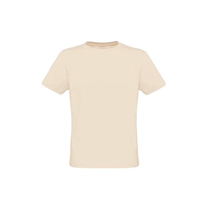 B&C - Camiseta básica de Manga Corta Ecológica Modelo Biosfair Hombre/Caballero (Pequeña (