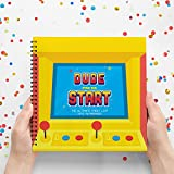 Baby : Dude Press Start - The Ultimate Cheat List Into Fatherhood - New Dad Survival Kit, New Dad Gifts, Dad To Be Presents, Unusual Presents For First Time Dads. Wife To Husband Gifts.