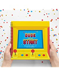 Dude Press Start - The Ultimate Cheat List Into Fatherhood - New Dad Survival Kit, New Dad Gifts, Dad To Be Presents, Unusual Presents For First Time Dads. Wife To Husband Gifts. BOBEBE Online Baby Store From New York to Miami and Los Angeles