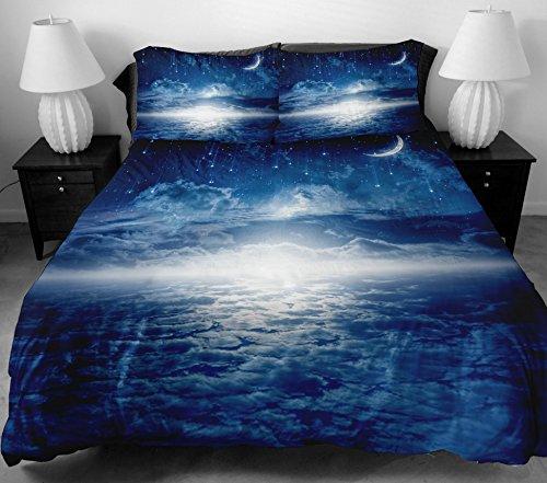 anlye Teen ropa de cama para el hogar Decoradores 2Lados la marina de Meteors Blue Star de ropa de cama de impresión con...
