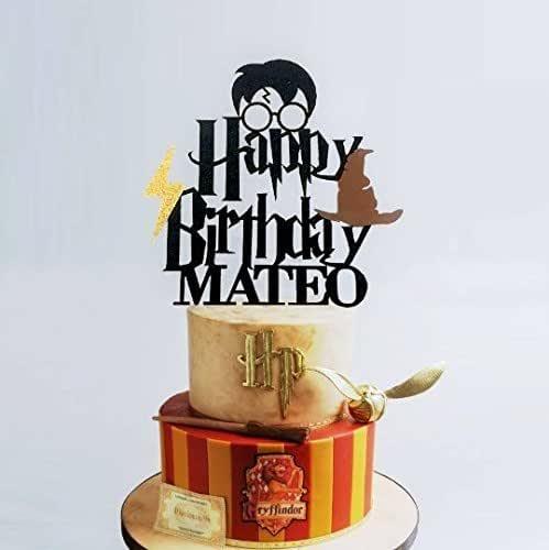 Harry Potter Cake Topper, Custom Name Cake Topper, Harry ...