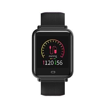 Docooler Q9 Reloj Deportivo Pulsera Inteligente SMA Band Fitness Tracker Pantalla IPS Podómetro Calorías Monitor de Ritmo Cardíaco Sleep para iPhone ...