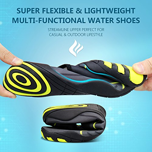 Swim Walking For Men Shoes Barefoot Quick Dry Beach Aqua Water Drainage Lake Garden Yoga 14 Womens CIOR Holes Driving Park Sports With Flora Zxqw6Z