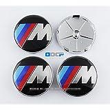 D&R Set Of 4 pcs 68mm Wheel Center Caps Hubcaps For BMW M