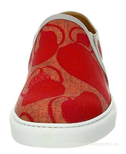 Marc Jacobs Lederen Afgezette Slip-on Skate Sneaker / Loafer