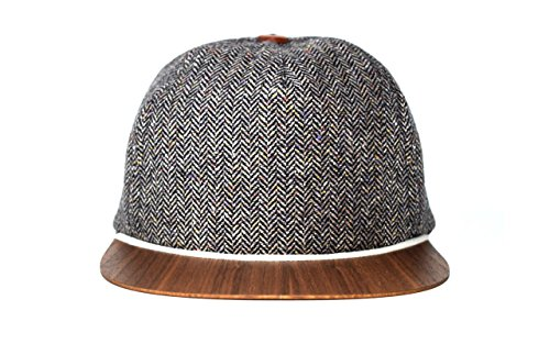 Tweed Hat for men with finest wooden visor - Made in Germany - light & comfortable - One size fits all   Lou-i Baseball - Gucci Hat Kids