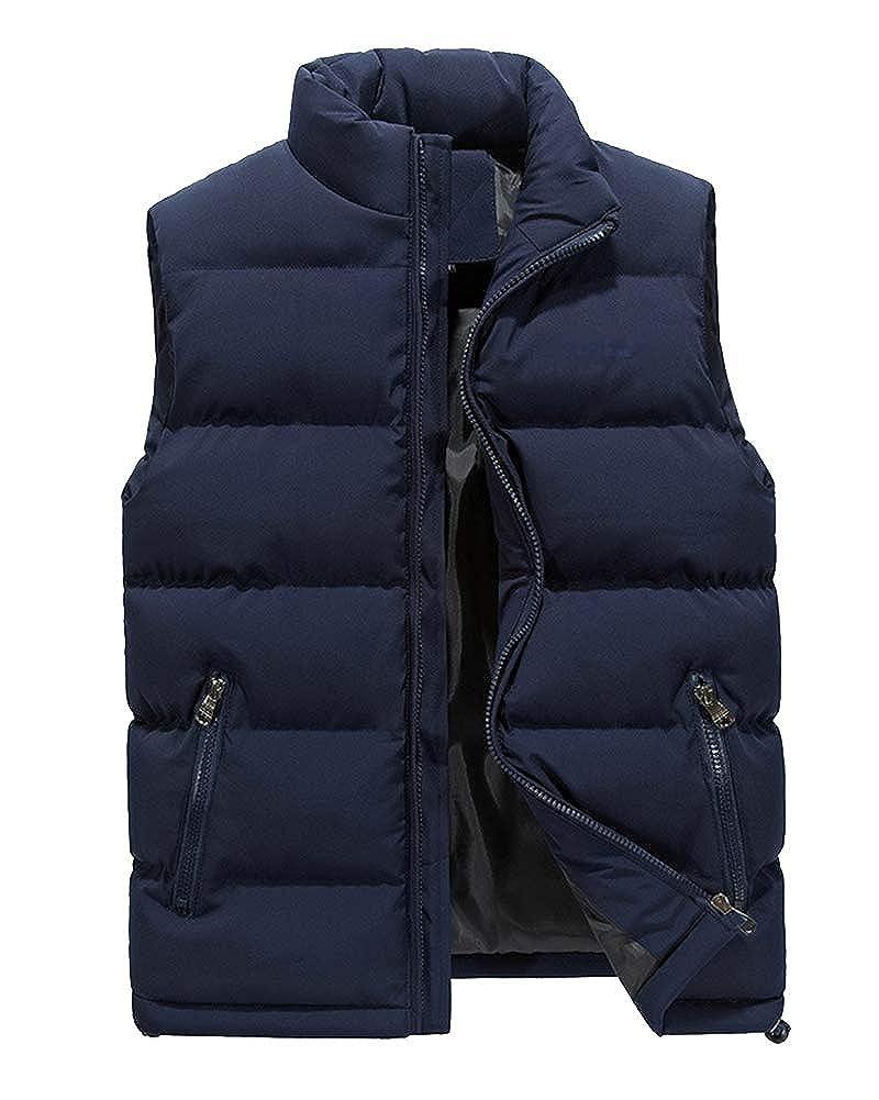 Shaoyao Men's Jacket Coat Vest Packable Ultra Light Weight Gilets