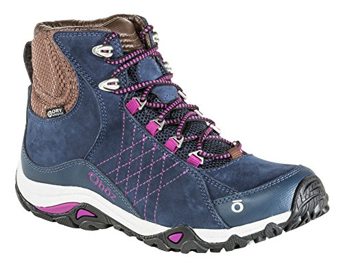 (Oboz Sapphire Mid B-Dry Hiking Shoe - Women's Huckleberry 7.5)