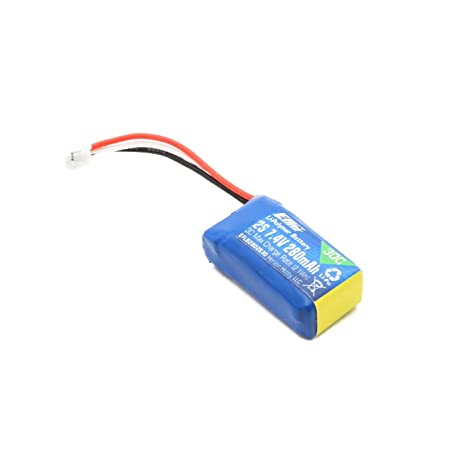Amazon.com: E-Flite 280 mAh 2S 7.4 V 30 C LiPo Batería: Toys ...