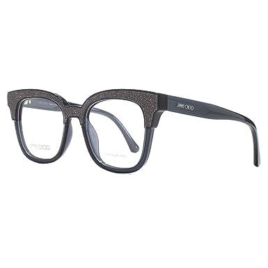6404a652efdf Eyeglasses Jimmy Choo Jc 176 018R Dark Gray Glittergy at Amazon Women s  Clothing store