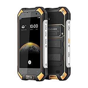 Blackview Unlocked Cell Phone, BV6000S Rugged Smartphone - 4G Android 7.0-4.7''HD IP68 Waterproof Dual SIM Phone - 4500mAh Battery 2MP+8MP
