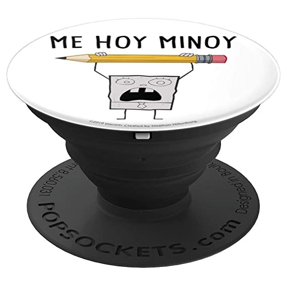 SpongeBob SquarePants DoodleBob Me Hoy Minoy - PopSockets Grip and Stand  for Phones and Tablets