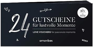 Premium Liebes Gutscheinheft Für Männer 24 Liebesgutscheine