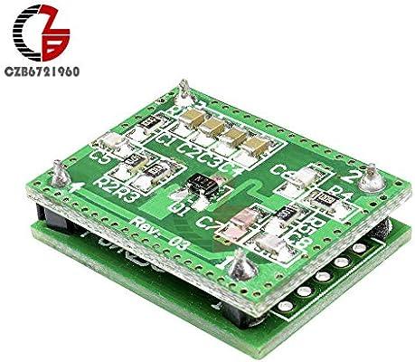 Lets dream switchs with 8-15M LV002 Doppler Radar Microwave Sensor Switch Module DC 6-40V Radar Detector for Corridor Aisle Garage Induction